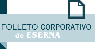 Folleto corporativo de ESERNA